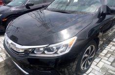 Selling black 2017 Honda Accord sedan automatic at price ₦8,500,000