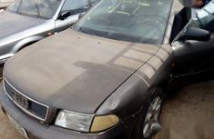 Grey/silver 2002 Audi A4 manual for sale at price ₦250,000 in Abuja