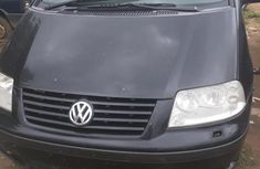 Sharp black 2000 Volkswagen Sharan van manual for sale