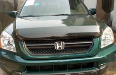 Honda Pilot 2003 EX 4x4 (3.5L 6cyl 5A) Green color for sale