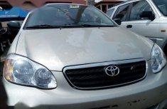 Toyota Corolla 2003 Sedan Silver color for sale