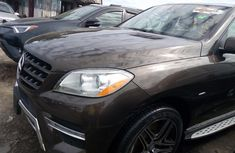 Well maintained 2011 Mercedes-Benz ML suv automatic for sale in Lagos