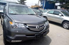 Selling grey 2008 Acura MDX suv automatic at price ₦3,600,000