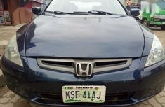 Sell used blue 2005 Honda Accord automatic at price ₦750,000