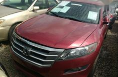 Honda Accord CrossTour 2010 Red color for sale