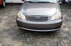 Toyota Corolla 2003 Sedan Automatic Gray color for sale