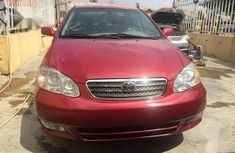Toyota Corolla 2005 Red color for sale