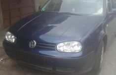 Need to sell high quality blue 2002 Volkswagen Golf manual at price ₦920,000