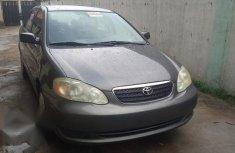 Toyota Corolla 2007 LE Gray color for sale