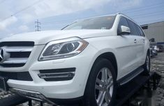 Selling white 2015 Mercedes-Benz GL-Class automatic in good condition in Lagos