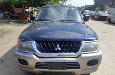 Mitsubishi Montero 2003 Blue color for sale