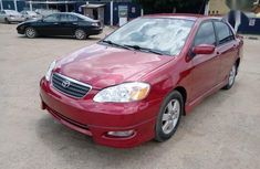 Toyota Corolla 2006 S Red color for sale