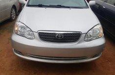 Toyota Corolla LE 2007 Silver color for sale