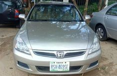 Sell brown 2007 Honda Accord automatic in Abuja at cheap price