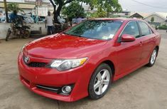 Toyota Camry 2012 Red color for sale