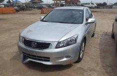 Sell used grey 2011 Honda Accord automatic at price ₦2,700,000