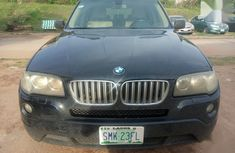 Used blue 2008 BMW X3 automatic for sale at price ₦2,800,000
