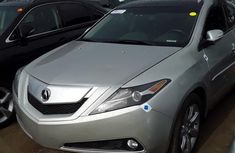 Sell grey/silver 2010 Acura ZDX automatic at price ₦6,800,000