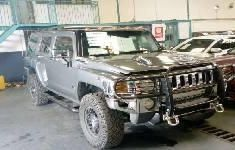 Best priced grey 2008 Hummer H3 automatic in Lagos