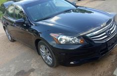 Selling black 2011 Honda Accord automatic at price ₦3,500,000