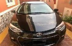 Clean and neat black 2015 Toyota Corolla sedan at price ₦5,100,000 in Lagos