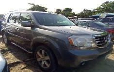 Honda Pilot 2011 Petrol Automatic Grey/Silver color for sale