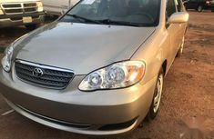 Toyota Corolla 1.8 VVTL-i TS 2006 Gold color for sale