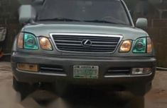 Lexus LX 2003 Green color for sale