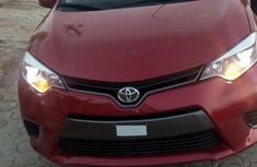 Sell well kept 2015 Toyota Corolla at mileage 10,038
