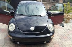 Well maintained black 2005 Volkswagen Beetle for sale at price ₦1,250,000 in Akure