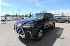 Sell cheap black 2017 Lexus LX automatic