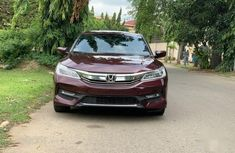 Sell well kept red 2016 Honda Accord sedan automatic