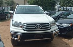 Clean white 2018 Toyota Hilux car for sale at attractive price