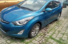 Sell blue 2014 Hyundai Elantra automatic in Ikeja at cheap price