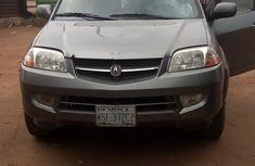Grey/silver 2003 Acura MDX for sale at price ₦820,000 in Lagos