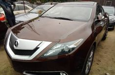 Sell used brown 2011 Acura ZDX suv / crossover automatic
