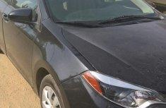 Sell cheap black 2016 Toyota Corolla sedan automatic at mileage 61,000