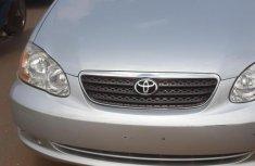 Toyota Corolla 2007 Silver color for sale