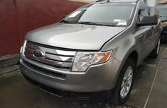 Clean used grey/silver 2008 Ford Edge suv / crossover automatic for sale in Ikeja