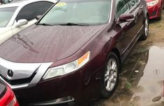 Best priced red 2009 Acura TL automatic at mileage 0