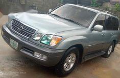 Sell green 2003 Lexus LX automatic at price ₦1,650,000 in Lagos