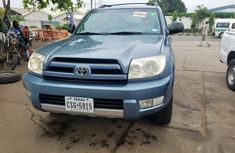 Toyota 4-Runner SR5 4x4 2004 Blue color for sale