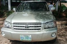 Brown 2002 Toyota Highlander for sale at price ₦1,400,000 in Abuja