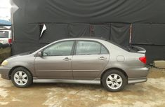 Used grey 2003 Toyota Corolla car automatic at attractive price