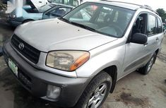 Need to sell high quality grey 2004 Toyota RAV4 automatic at price ₦980,000