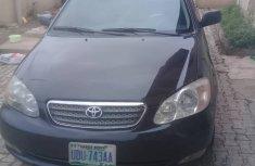 Nigerian Used 2004 Toyota Corolla S Black