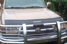 Well maintained Clean Toyota 4 Runner 2000, Gold for sale in Lagos