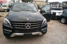 Sell used black 2015 Mercedes-Benz M-Class suv at price ₦16,000,000