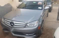 Grey 2008 Mercedes-Benz C300 sedan for sale at price ₦4,000,000 in Lagos