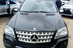 Need to sell black 2010 Mercedes-Benz M-Class at price ₦6,500,000